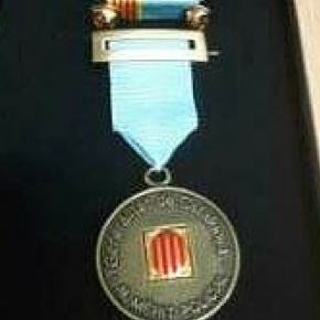 Medalla de bronce al mérito policial con distintivo azul de Mossos d'Esquadra