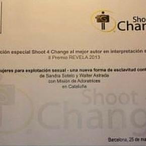 Mención Especial Shoot 4 Change al mejor autor en interpretación social. II Premi Revela