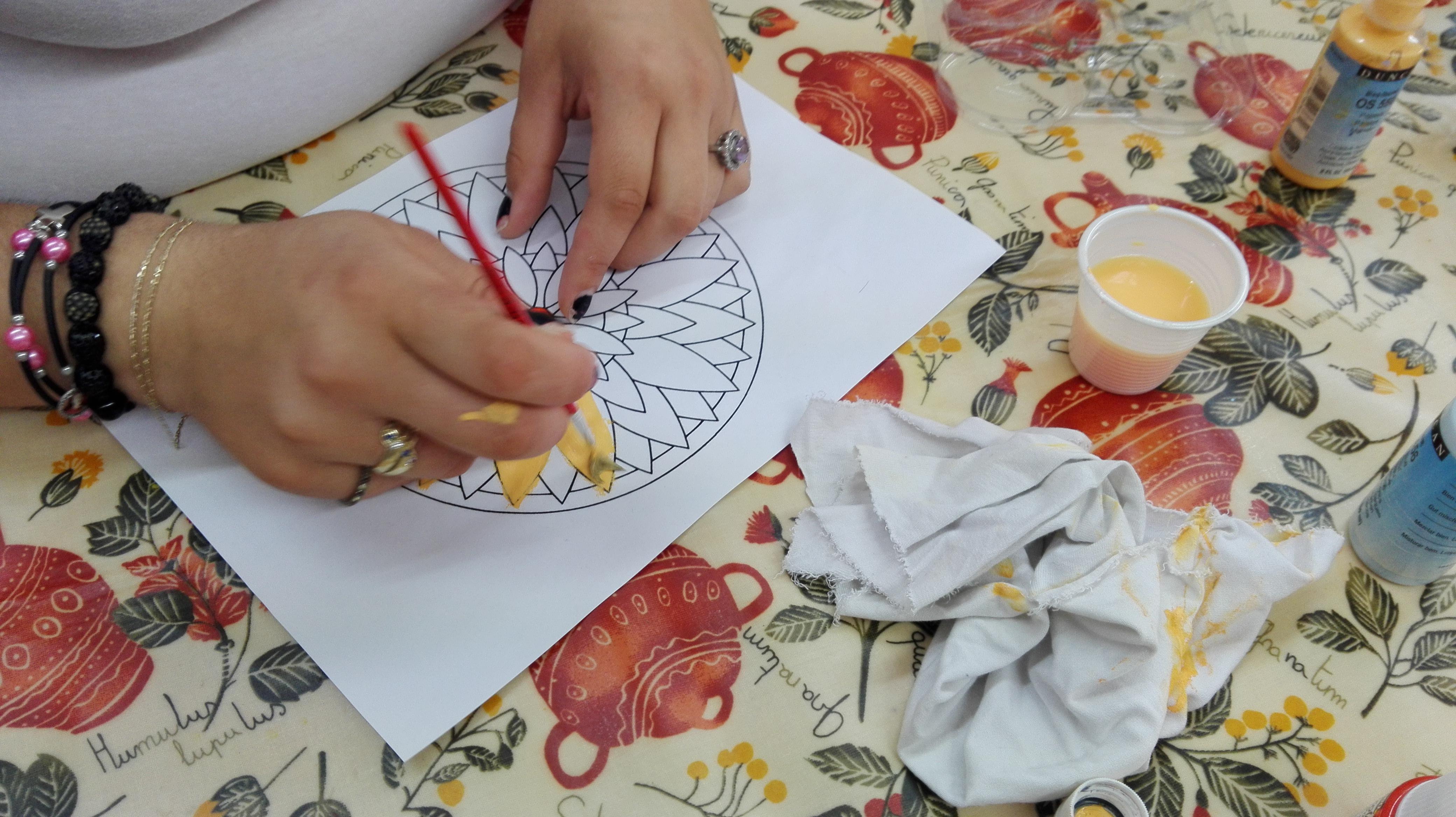 El arte de pintar mándalas