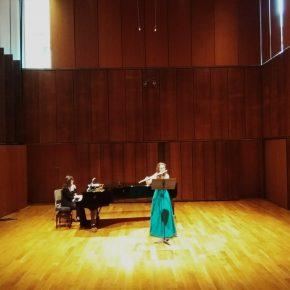 Concierto de flauta, nueva actividad de ocio