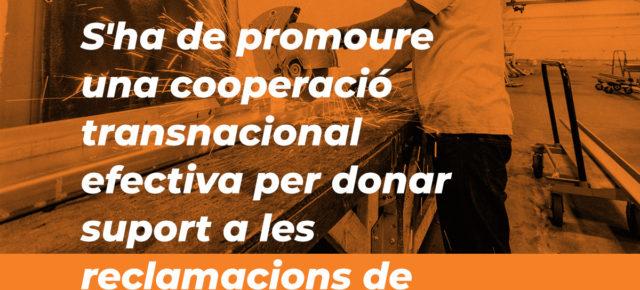 Recomanació: promoure la cooperació transnacional