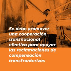 Recomendación: promover la cooperación transnacional