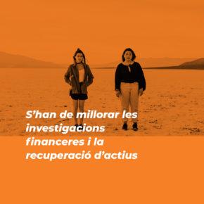 Recomanació sobre investigacions financeres